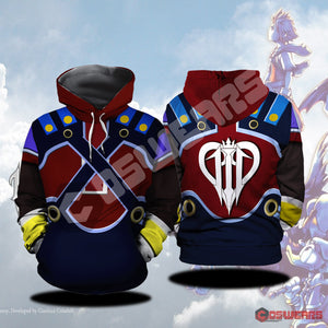 Kingdom Hearts Pete Inspired Pullover Hoodie