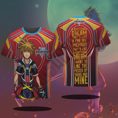 Kingdom Hearts : Scattered Dream T-Shirt
