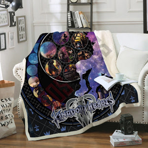 Kingdom Hearts III Blanket
