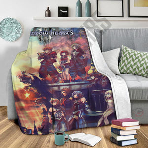 Kingdom Hearts Heroes III Blanket