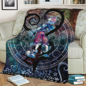 Kingdom Hearts Cast Blanket