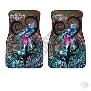 Kingdom Hearts Cast Car Floor Mat