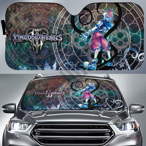 Kingdom Hearts Cast Car Sun Shade