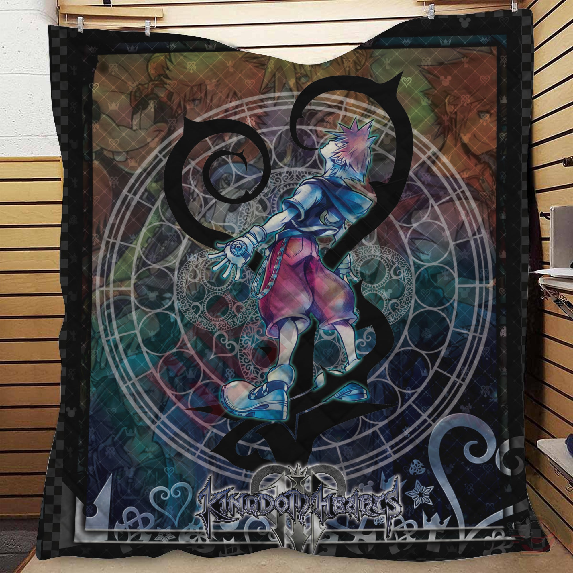 Kingdom Hearts Cast Quilt
