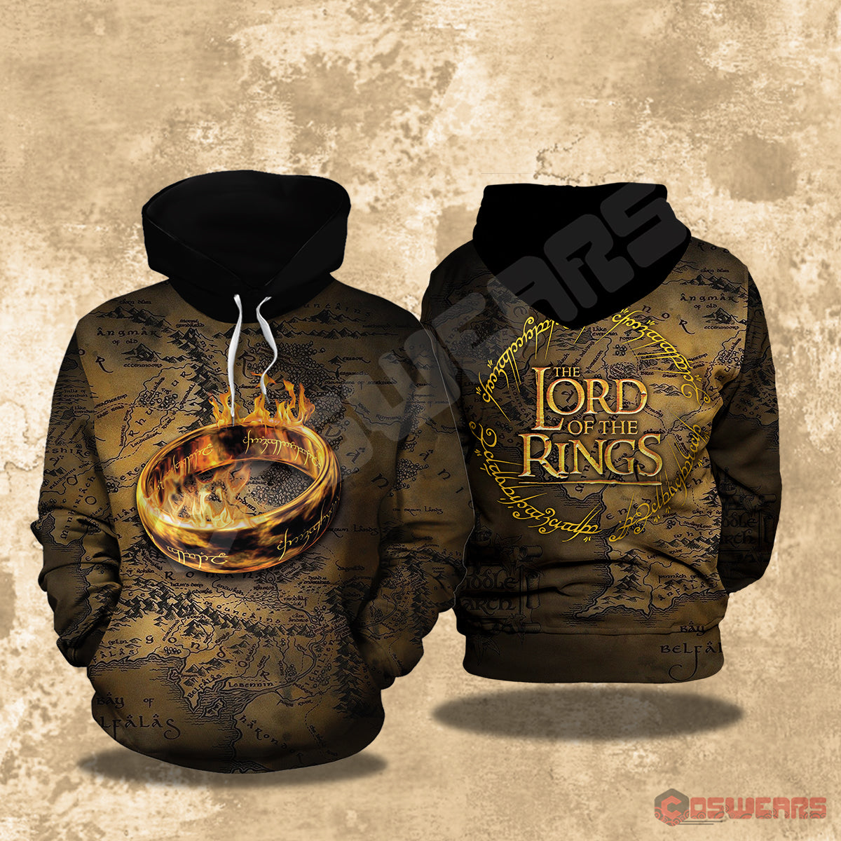 Lord of the Rings - Ring of Power Pullover Hoodie