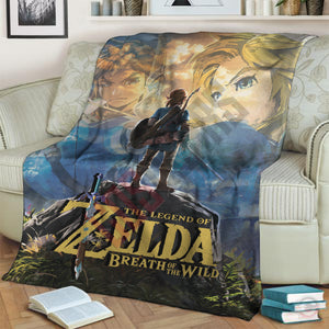 The Legend Of Zelda Breath Of The Wild Blanket