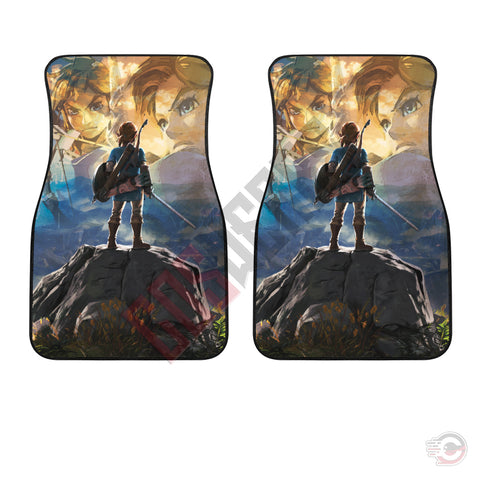 The Legend Of Zelda Breath Of The Wild Car Floor Mat