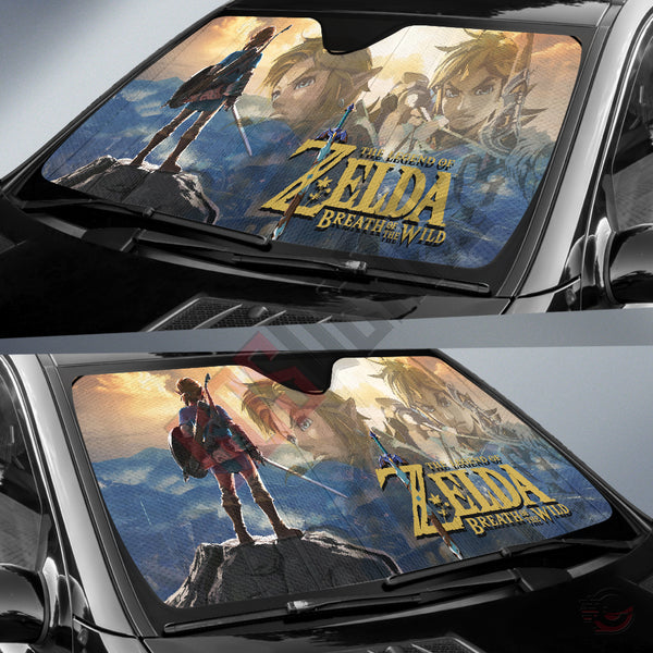 The Legend Of Zelda Breath Of The Wild Car Sun Shade