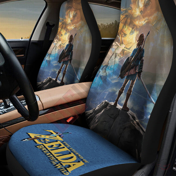 The Legend Of Zelda Breath Of The Wild Car Seat Cover