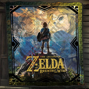 The Legend Of Zelda Breath Of The Wild Quilt