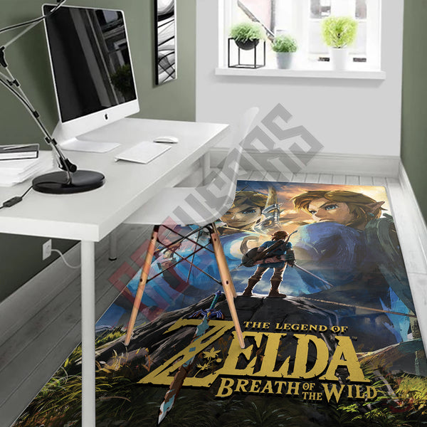 The Legend Of Zelda Breath Of The Wild Rug