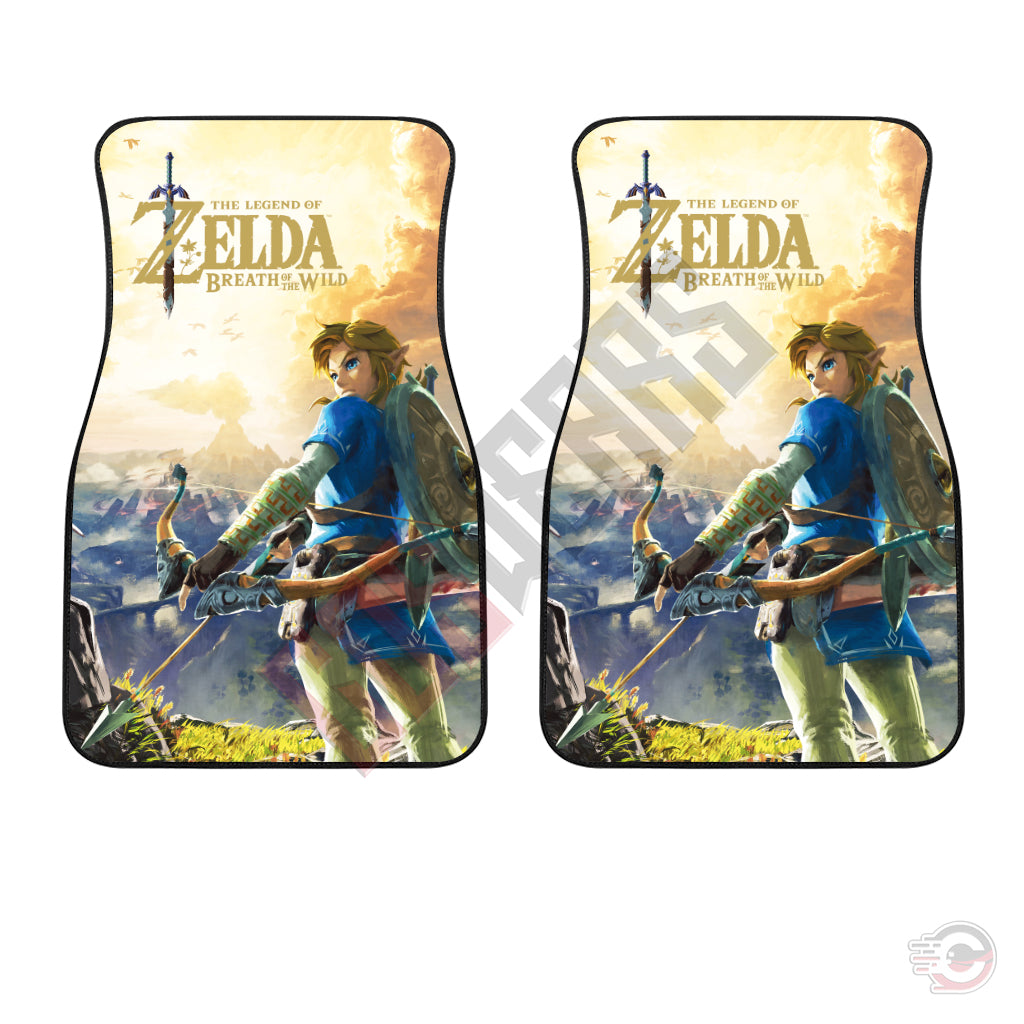 Legend of Zelda : Link Breath Of The Wild Car Floor Mat