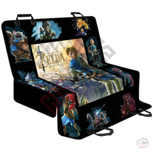Legend of Zelda : Link Breath Of The Wild Pet Seat Cover