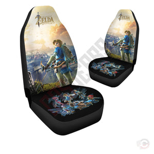 Legend of Zelda : Link Breath Of The Wild Car Seat Cover