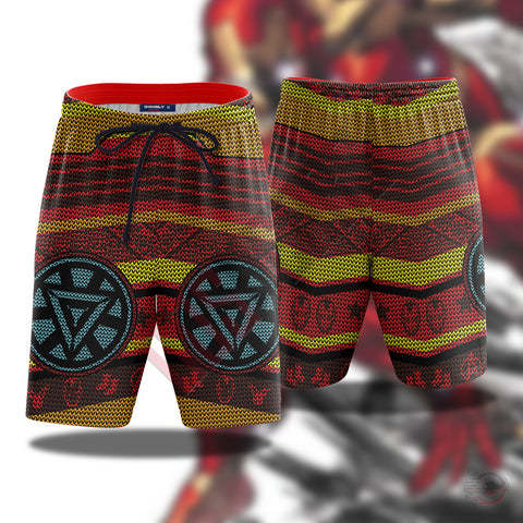 Avengers : Iron Man Beach Shorts