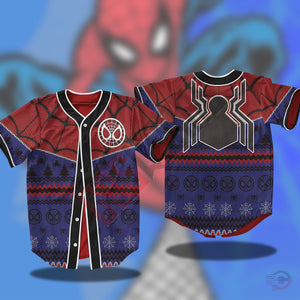 Avengers : Spiderman Jersey Shirt