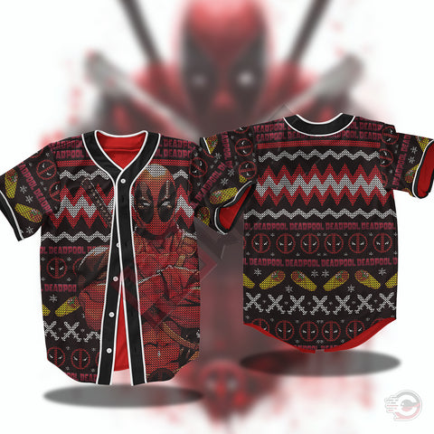 Avengers : Deadpool Jersey Shirt