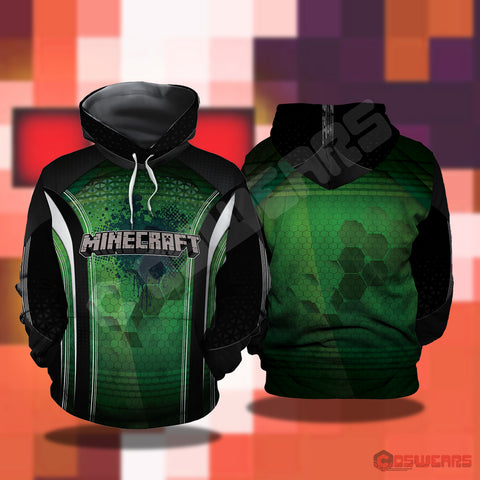 Mincraft Pullover Hoodie