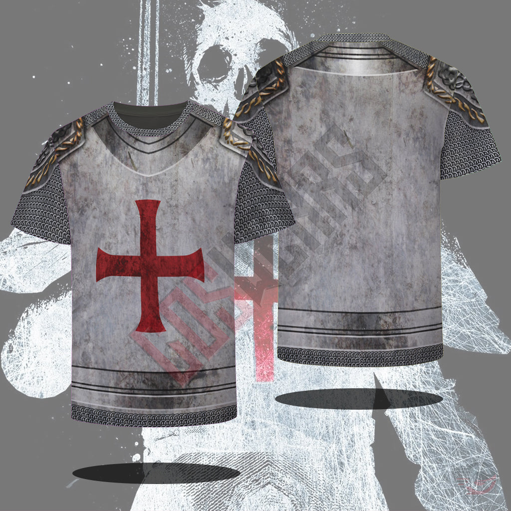 Medieval Armor : Knights Of The Cross T-Shirt