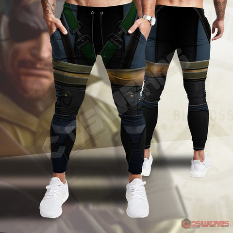 Metal Gear Solid : Solid Snake Inspired Joggers