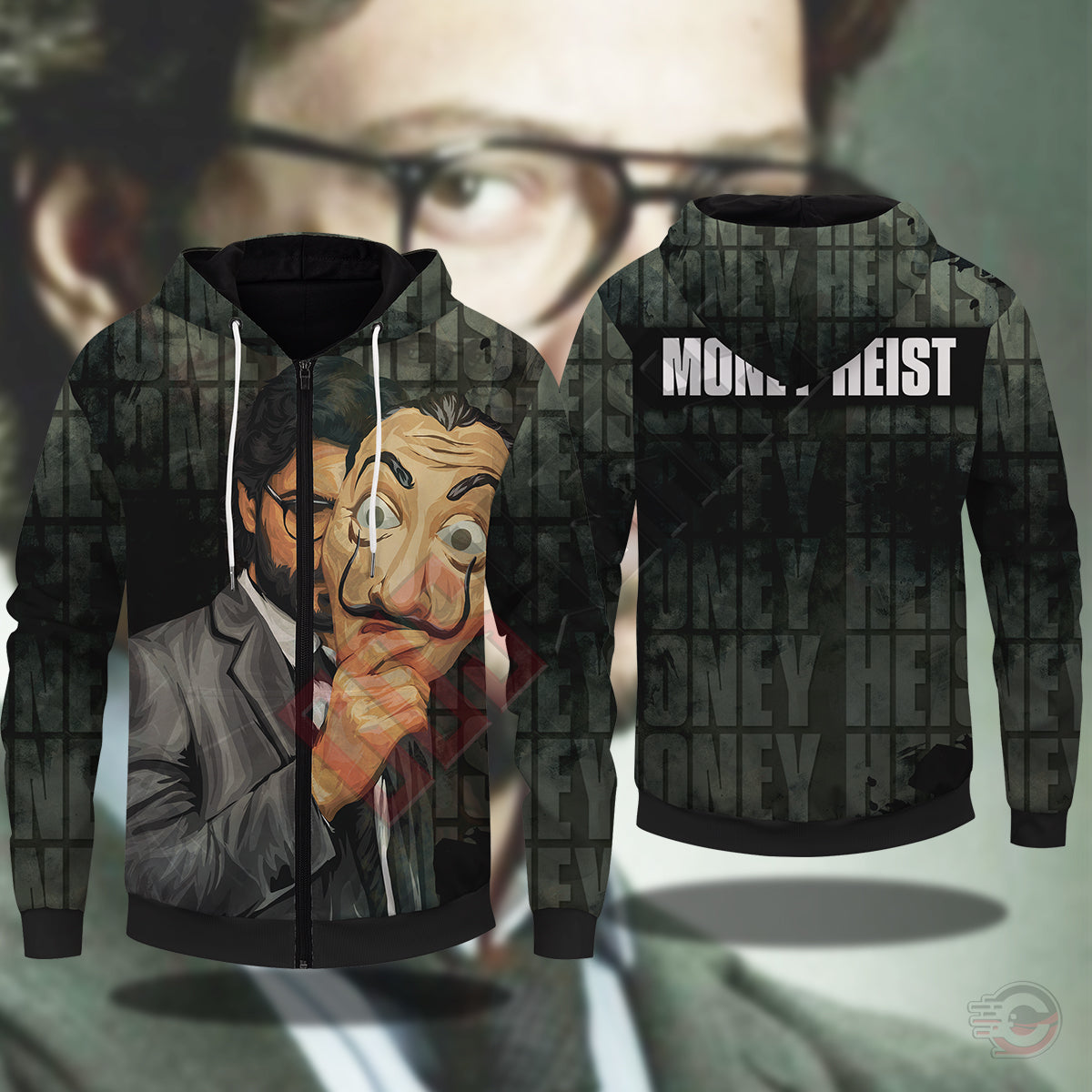 Money Heist : Casa de Papel Zipped Hoodie