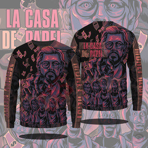 Money Heist : The Professor Sweatshirt
