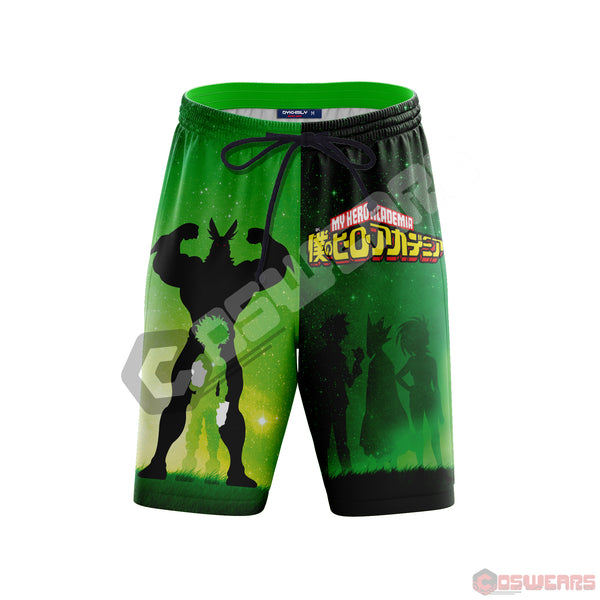 My Hero Academia: My Hero Inspired Beach Shorts