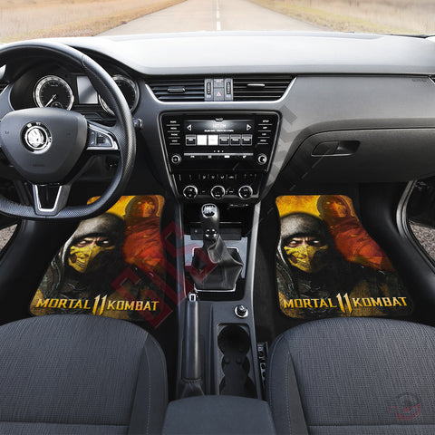 Mortal Kombat : Scorpion Inspired Car Floor Mat