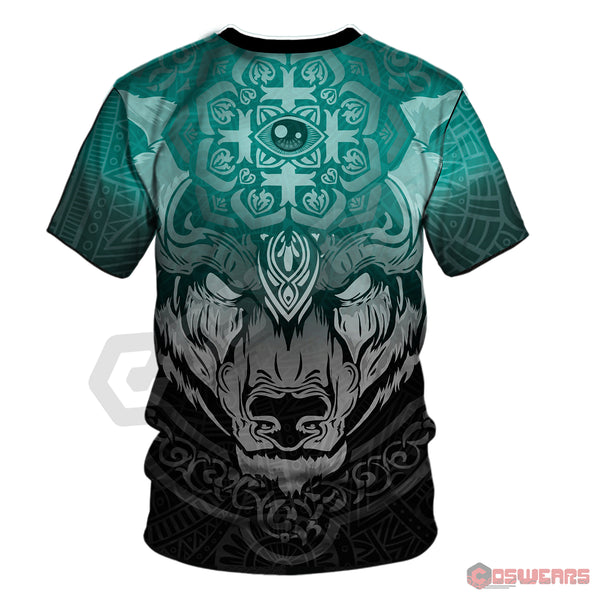 Neo-Traditional Celtic Bear T-Shirt