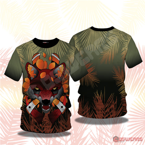 Neo-Traditional Fox T-Shirt
