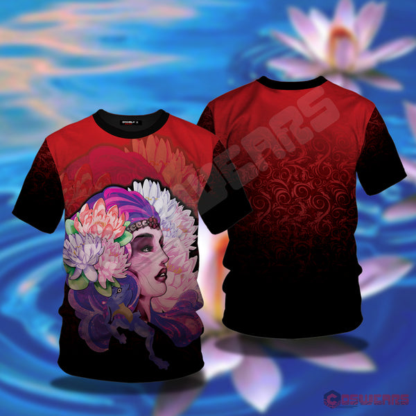 Neo-Traditional Mystic Lady T-Shirt