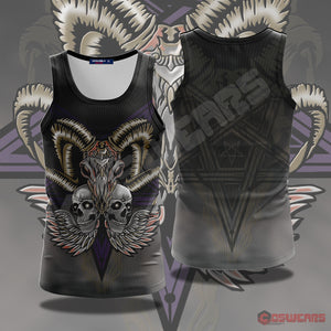 Neo-Traditional Ram Totem Tank Top