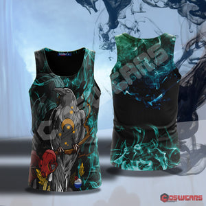 Neo-Traditional Blind Raven Tank Top