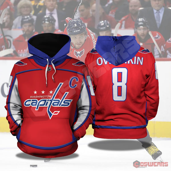 National Hockey League - Alex Ovechkin Pullover Hoodie