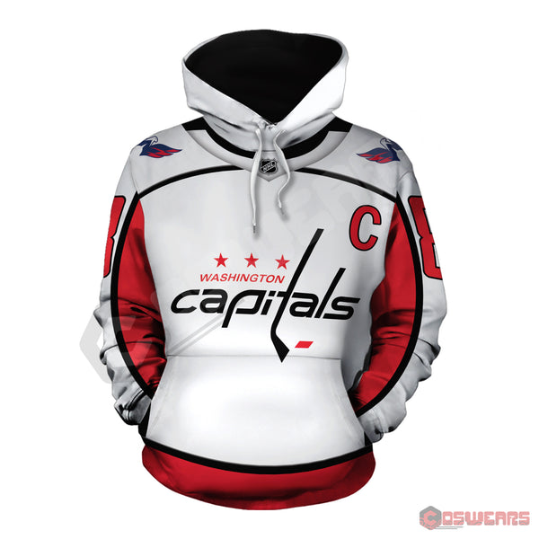 National Hockey League -Ovechkin Jersey Pullover Hoodie