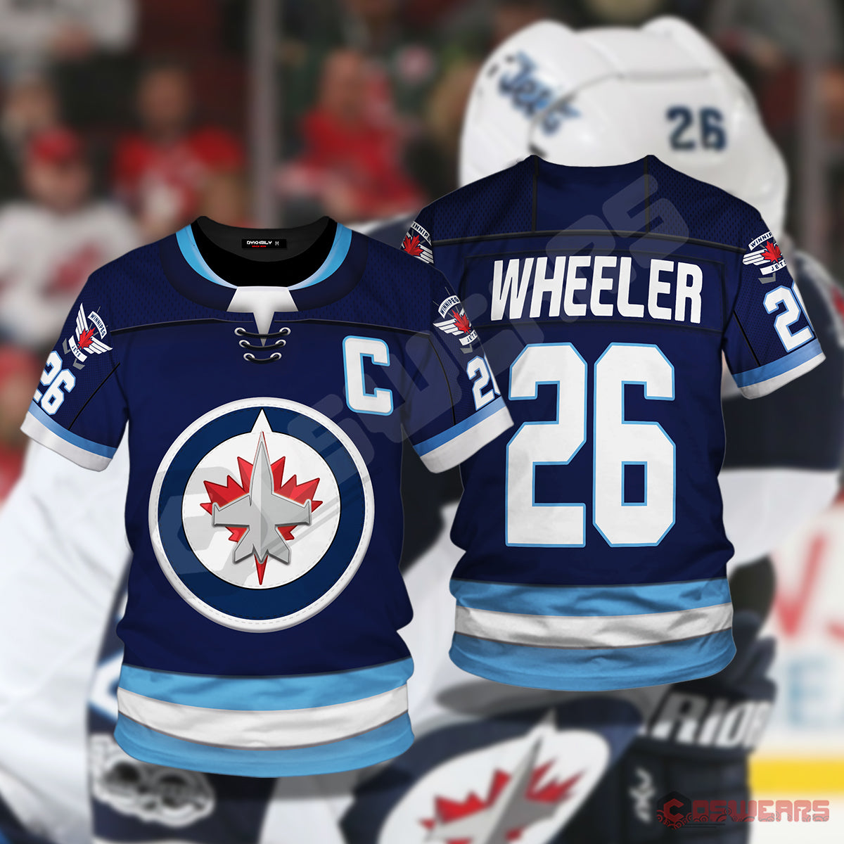 National Hockey League - Blake Wheeler T-Shirt