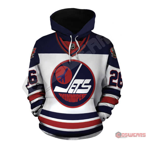 National Hockey League - Wheeler Jersey Pullover Hoodie
