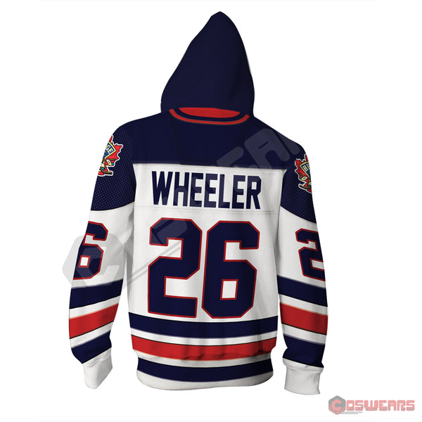 National Hockey League - Wheeler Jersey Zipped Hoodie