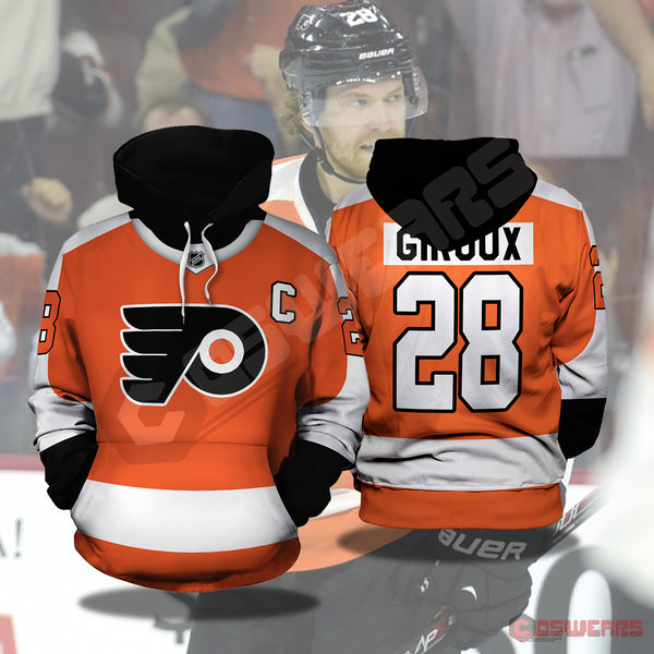 National Hockey League - Claude Jersey Pullover Hoodie