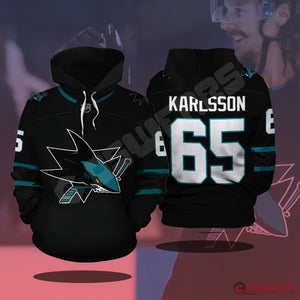 National Hockey League - Karlsson Jersey Pullover Hoodie