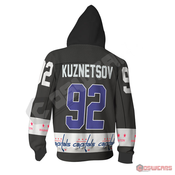 National Hockey League - Kuznetsov Jersey Zipped Hoodie