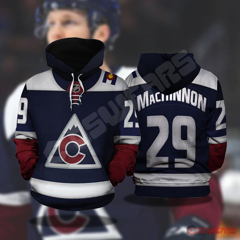 National Hockey League - Nathan Mackinnon Pullover Hoodie