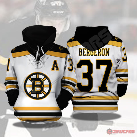 National Hockey League - Bergeron Jersey Pullover Hoodie
