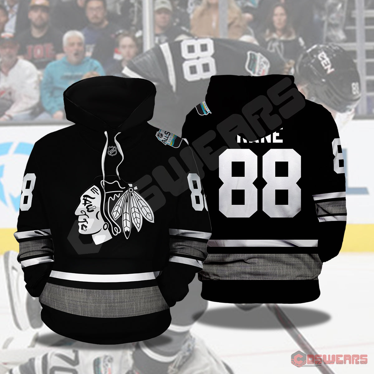 National Hockey League - Patrick Kane Pullover Hoodie
