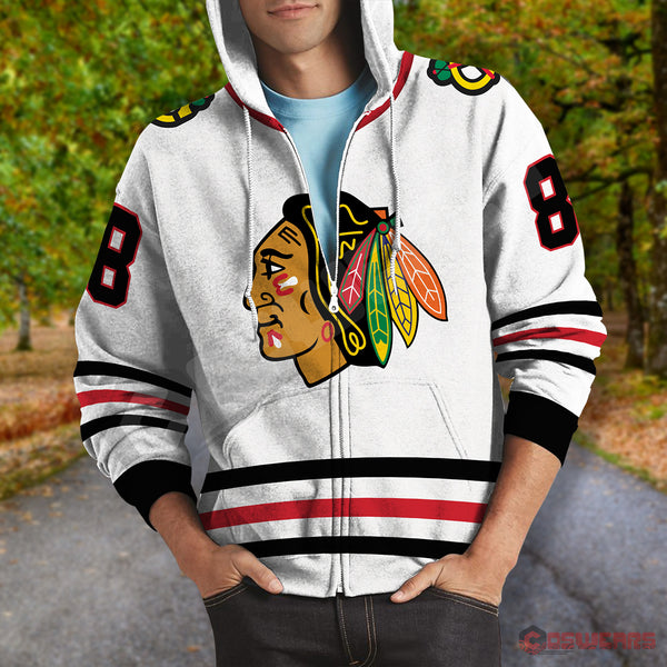 National Hockey League - Kane Jersey Zipped Hoodie