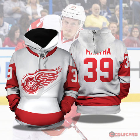 National Hockey League -Anthony Mantha Pullover Hoodie