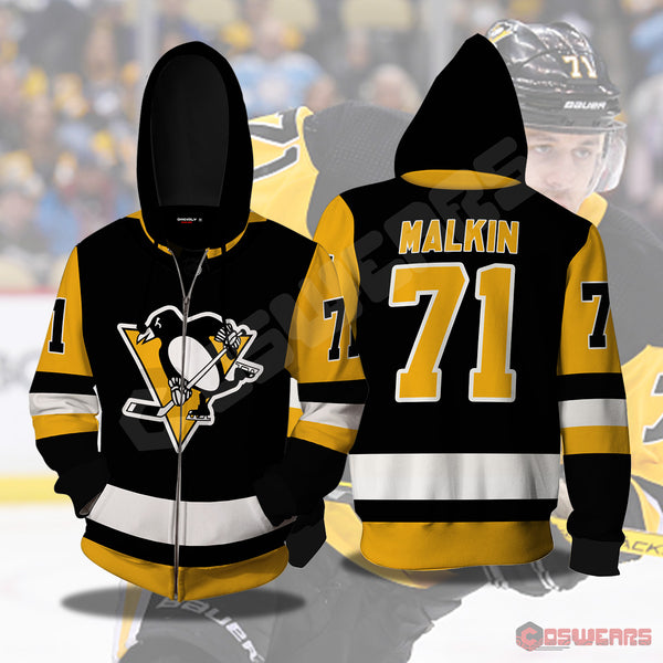 National Hockey League - Evgeni Malkin Zipped Hoodie