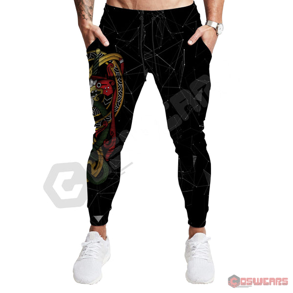 Nordic Inspired Serpent Jogger