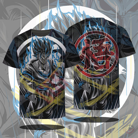 Original Designs : Goku Reborn T-Shirt