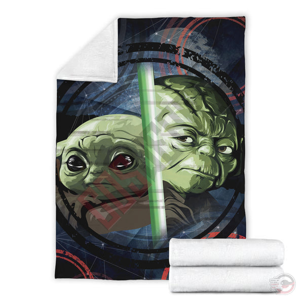 Original Designs : Baby Yoda Reflection Blanket